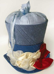 Fascinator pincushion pattern from Pincushions on Parade, by Mary Jo Hiney