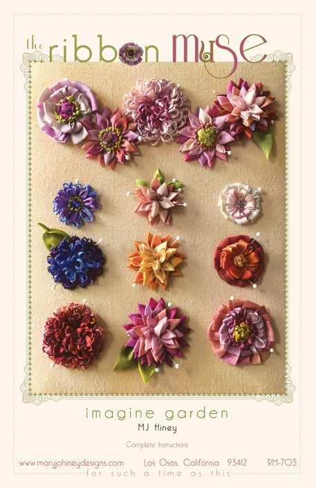 Imagine Garden Ribbon Muse design, from Mary Jo Hiney