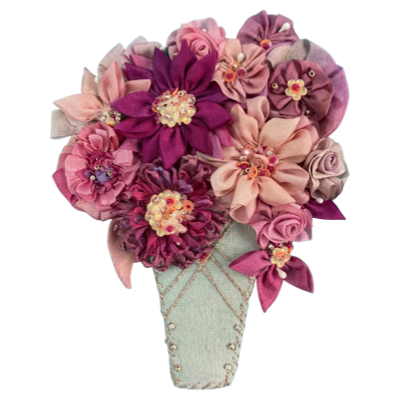 Flower Therapy in the Pink color palette
