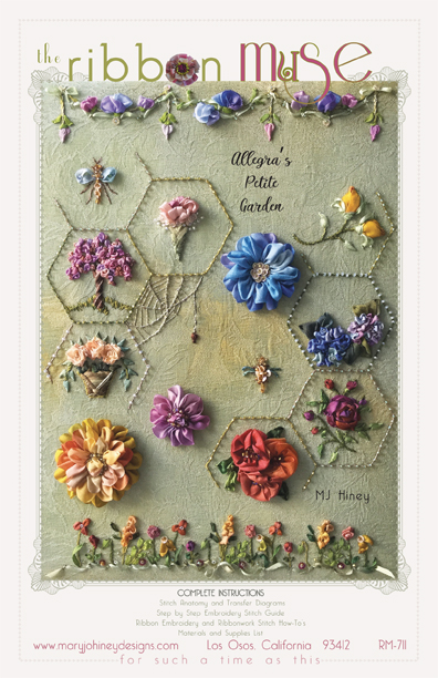Allegras Petite Garden Complete Instructions Only From The Ribbon