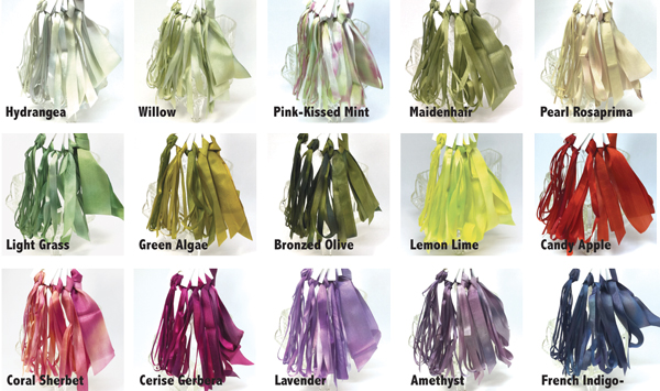 Fifteen New Ribbon Shades from Mary Jo Hiney Designs