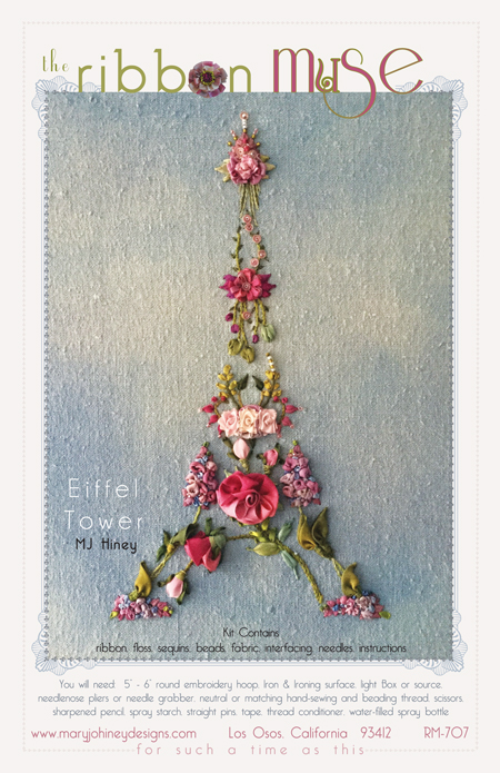 Eiffel Tower Ribbon Muse design from Mary Jo Hiney Designs