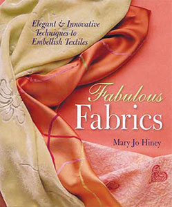Book cover for Fabulous Fabrics, by Mary Jo Hiney