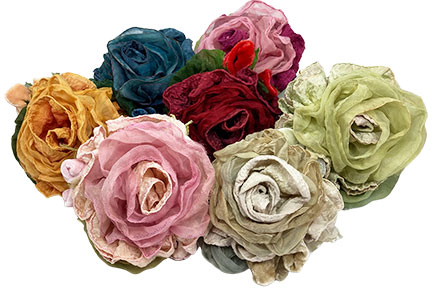 Crinkle Rose kits from Mary Jo Hiney Designs