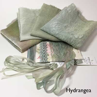 Hydrangea small hand-dyed collection from Mary Jo Hiney Designs