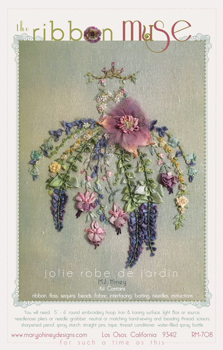 Jolie Robe de Jardin Ribbon  Muse design by Mary Jo Hiney