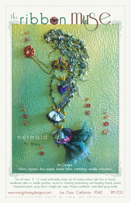 Mermaid Ribbon Muse design from Mary Jo Hiney