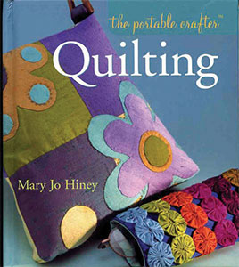 Book cover for Portable Crafter - Quilting, by Mary Jo Hiney
