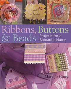 Book cover for Ribbons, Buttons and Beads, by Mary Jo Hiney