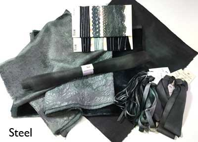 Steel hand-dyed large collection from Mary Jo Hiney Designs