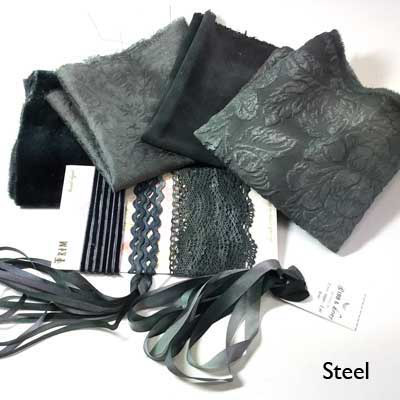 Steel small hand-dyed collection from Mary Jo Hiney Designs