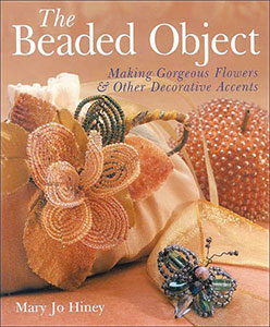 Book cover for The Beaded Object, by Mary Jo Hiney
