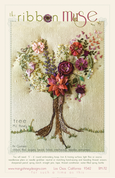 Tree Ribbon Muse design by Mary Jo Hiney