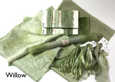 Willow hand-dyed large collection from Mary Jo Hiney Designs