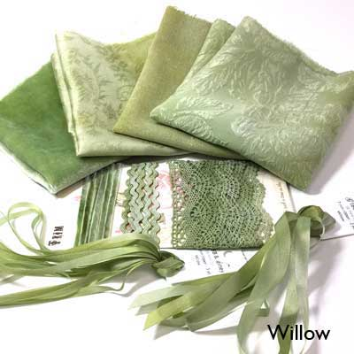 Willow small hand-dyed collection from Mary Jo Hiney Designs